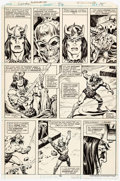 Original Comic Art:Panel Pages, Sal Buscema and Ernie Chan Conan the Barbarian #92 Page 15Original Art (Marvel, 1978)....