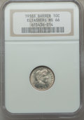 Barber Dimes, 1916-S 10C MS66 NGC. NGC Census: (26/1). PCGS Population: (16/2).CDN: $640 Whsle. Bid for problem-free NGC/PCGS MS66. Mint...