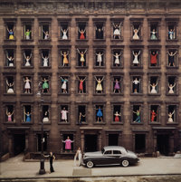 Ormond Gigli (American, b. 1925) Girls in the Windows, New York City , 1960 Oversized dye coupler, p