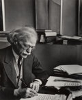 Photographs, Imogen Cunningham (American, 1883-1976). Alfred Stieglitz at an American Place, New York, 1934. Gelatin silver, printed ...