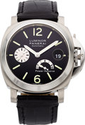 Timepieces:Wristwatch, Panerai Luminor Power Reserve Automatic OP6575 FO616/2100. ...