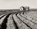 Photographs, Dorothea Lange (American, 1895-1965). Tractored Out, 1930s. Gelatin silver, printed circa 1960. 7-1/2 x 9-1/2 inches (19...