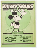 Platinum Age (1897-1937):Miscellaneous, Mickey Mouse Book Later Printing (Bibo & Lang, 1931) Condition:VG+....
