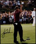 Golf Collectibles:Autographs, Tiger Woods Signed Photograph - Upper Deck Authenticated. ...