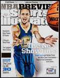 """Basketball Collectibles:Others, Stephen Curry Signed """"Sports Illustrated"""" Magazine. ..."""