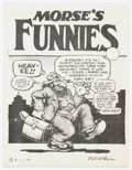 Bronze Age (1970-1979):Alternative/Underground, Morse's Funnies #1 (Albert Morse, 1974) Condition: FN/VF....