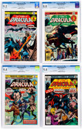 Bronze Age (1970-1979):Horror, Tomb of Dracula CGC-Graded Group of 5 (Marvel, 1976-77).... (Total:5 Comic Books)
