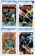 Modern Age (1980-Present):Superhero, Batman CGC-Graded Group of 5 (DC, 1976-84).... (Total: 5 ComicBooks)