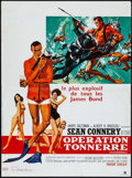 "Movie Posters:James Bond, Thunderball (United Artists, 1965). French Affiche (15.5"" X 21"").James Bond.. ..."