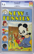 "Golden Age (1938-1955):Funny Animal, New Funnies #88 Davis Crippen (""D"" Copy) pedigree (Dell, 1944) CGCNM+ 9.6 Cream to off-white pages...."