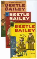 Silver Age (1956-1969):Humor, Beetle Bailey File Copies Group (Dell, 1958-62) Condition: Average FN/VF....