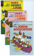 Bronze Age (1970-1979):Cartoon Character, Huey, Dewey, and Louie Junior Woodchucks File Copies Group (GoldKey/Whitman, 1967-81) Condition: Average VF+....