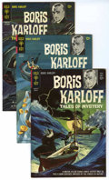 Silver Age (1956-1969):Horror, Boris Karloff Tales of Mystery File Copies Group (Gold Key,1964-79) Condition: Average VF-.... (Total: 24 Comic Books)