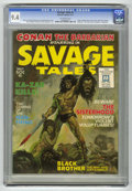Magazines:Superhero, Savage Tales #1 (Marvel, 1971) CGC NM 9.4 Off-white pages....