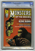 Magazines:Horror, Monsters of the Movies #1 (Marvel, 1974) CGC NM 9.4 White pages....