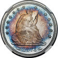 Proof Seated Quarters, 1873 25C Arrows PR68 Cameo NGC....
