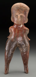 Pre-Columbian:Ceramics, A Chinesco Figure...