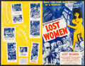 "Movie Posters:Science Fiction, On the Mesa of Lost Women & Others Lot (Howco, 1952). UncutPressbooks (5) (Multiple Pages, 11"" X 17""). Science Fiction.. ...(Total: 5 Items)"