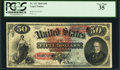 Large Size:Legal Tender Notes, Fr. 151 $50 1869 Legal Tender PCGS Very Fine 35.. ...