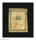 Colonial Notes:Pennsylvania, Pennsylvania April 25, 1776 10s Choice About New. A single light fold is found on this unusually well margined Pennsylvania ...