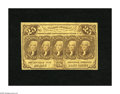 Fractional Currency:First Issue, Fr. 1281 25c First Issue Fine. This note has not attracted any unusual wear for the grade....