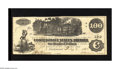 Confederate Notes:1862 Issues, T39 $100 1862. This was an interest bearing note thus it was morelikely to be saved than spent. Crisp Uncirculated....