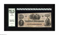 Confederate Notes:1862 Issues, T41 $100 1862. Light handling is found on this PCGS Choice AboutNew 58PPQ scarce scroll 2 C-note that was issued in the...