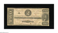 Confederate Notes:1862 Issues, T54 $2 1862. Just honest wear while serving the Lost Cause is foundon this Deuce. Very Good....