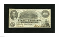 Obsoletes By State:Louisiana, Shreveport, LA- State of Louisiana $100 Mar. 10, 1863. This is a scarce state issue with this delightful example sporting th...