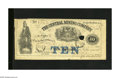 Obsoletes By State:Michigan, Eagle Harbor, MI- Central Mining Company $10 May 29, 1869. This company scrip is from the Upper Peninsula. Fine+, PC....