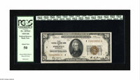 Fr. 1870-I $20 1929 Federal Reserve Bank Note. PCGS About New 50