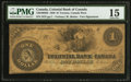 Canadian Currency: , Toronto, ON- Colonial Bank of Canada $1 July 7, 1859 Charlton130-10-02-02. ...