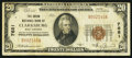 National Bank Notes:West Virginia, Clarksburg, WV - $20 1929 Ty. 1 The Union NB Ch. # 7681. ...