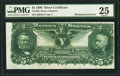 Error Notes:Large Size Errors, Fr. 269 $5 1896 Silver Certificate PMG Very Fine 25.. ...