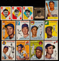 Baseball Cards:Lots, 1950 to 1954 Topps, Bowman and Drakes Collection (51). ...