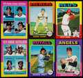 Baseball Cards:Sets, 1975 Topps Baseball Near Set (658/660). ...