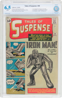 Tales of Suspense #39 (Marvel, 1963) CBCS FN+ 6.5 White pages