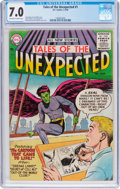 Silver Age (1956-1969):Science Fiction, Tales of the Unexpected #1 (DC, 1956) CGC FN/VF 7.0 Off-white towhite pages....