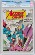 Silver Age (1956-1969):Superhero, Action Comics #252 (DC, 1959) CGC FN/VF 7.0 Cream to off-white pages....