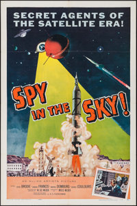 """Spy in the Sky! (Allied Artists, 1958). One Sheet (27"""" X 41""""). Thriller"""