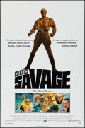 "Movie Posters:Adventure, Doc Savage: The Man of Bronze (Warner Brothers, 1975). One Sheet (27"" X 41""). Adventure.. ..."