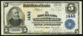 National Bank Notes:Maine, Rockland, ME - $5 1902 Plain Back Fr. 598 The Rockland NB Ch. #1446. ...