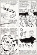 Original Comic Art:Panel Pages, Dick Ayers and John Tartaglione Sgt. Fury and His Howling Commandos Annual #3 Page 47 Original Art (Marvel, 1967)....