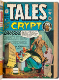 Golden Age (1938-1955):Miscellaneous, EC Horror and Crime Comics Bound Volumes Group of 7 (EC, 1950s).... (Total: 7 Items)
