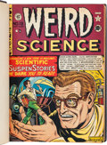 Golden Age (1938-1955):Science Fiction, Weird Science Complete Series Bound Volumes Group of 2 (EC,1950-53).... (Total: 2 Items)