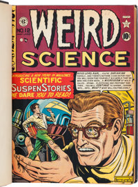 Weird Science Complete Series Bound Volumes Group of 2 (EC, 1950-53).... (Total: 2 Items)