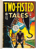 Golden Age (1938-1955):War, Two-Fisted Tales/Three Dimensional EC Classics Bound Volumes Group of 3 (EC, 1950-55).... (Total: 3 Items)