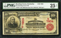 National Bank Notes:Kentucky, Bowling Green, KY - $10 1902 Red Seal Fr. 613 The Bowling Green NBCh. # (S)7804. ...