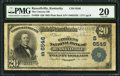 National Bank Notes:Kentucky, Russellville, KY - $20 1902 Plain Back Fr. 650 The Citizens NB Ch.# (S)6546. ...