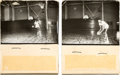 Basketball Collectibles:Others, Unique Pair of Wilt Chamberlain Prototype Flipbooks. ...